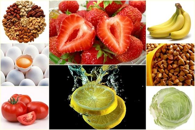 Таблица витаминов в6 в продуктах